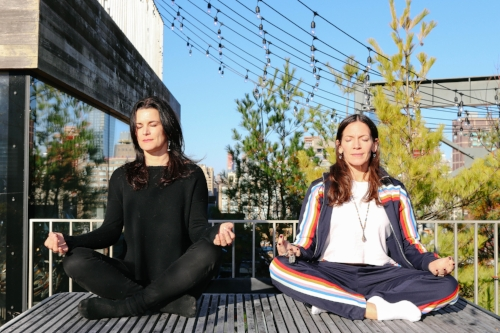 Sukey and Elizabeth Novogratz of Just Sit