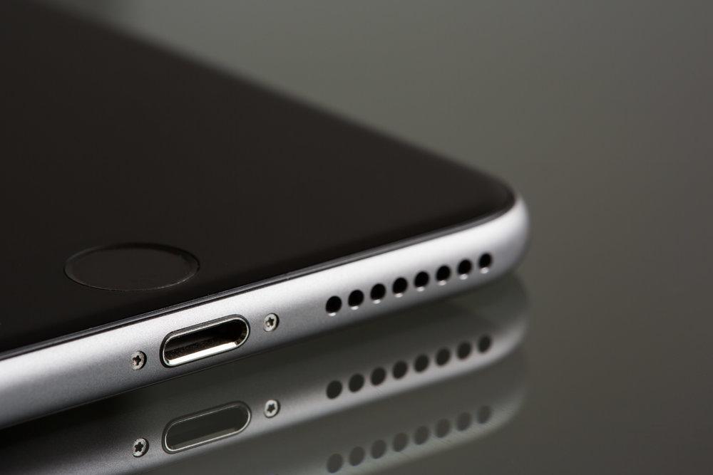 Smart Phone iphone 7 lighting port