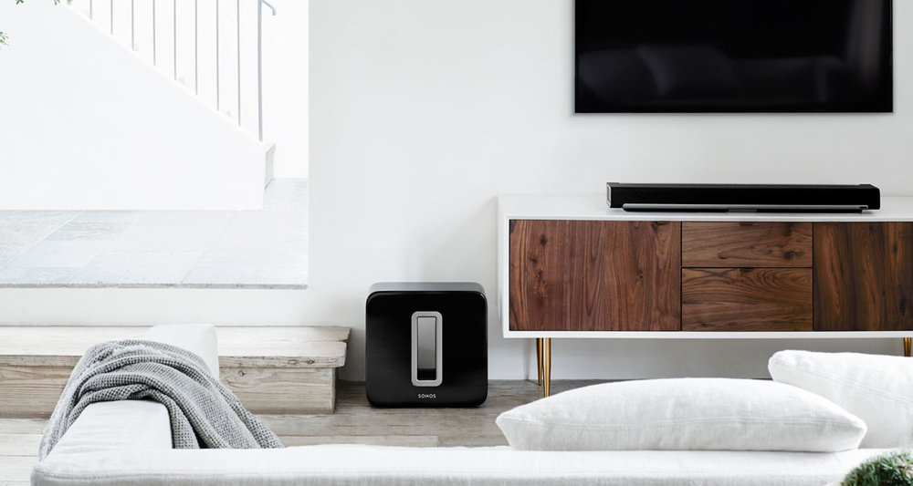 SONOS Playbar Sub Scandinavian interior design