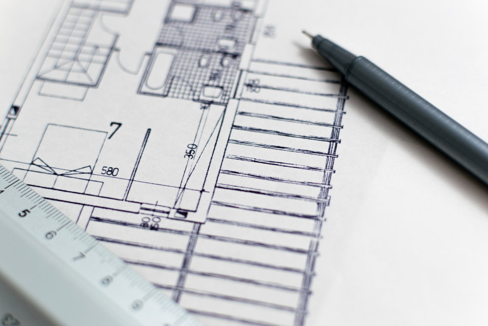 Architectural drawings plans new build renovation refurbishment