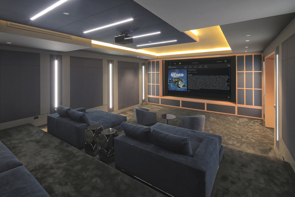 Home_Cinema_Control4_Finding_Nemo_Sony_Projector_Euroscreen_Yeomans_Walk_Apartment_SW3_Home_Automation