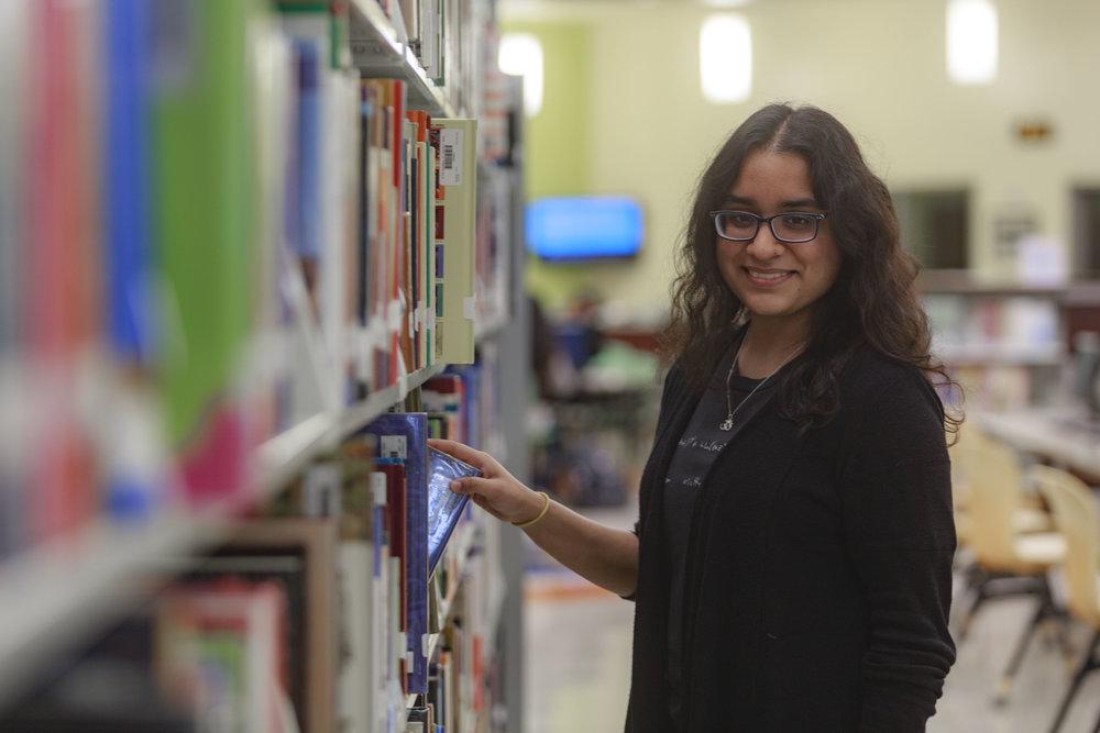 Priya Trakru- Junior at South Texas Academy for Medical Professions (Medical Academy) in Olmito
