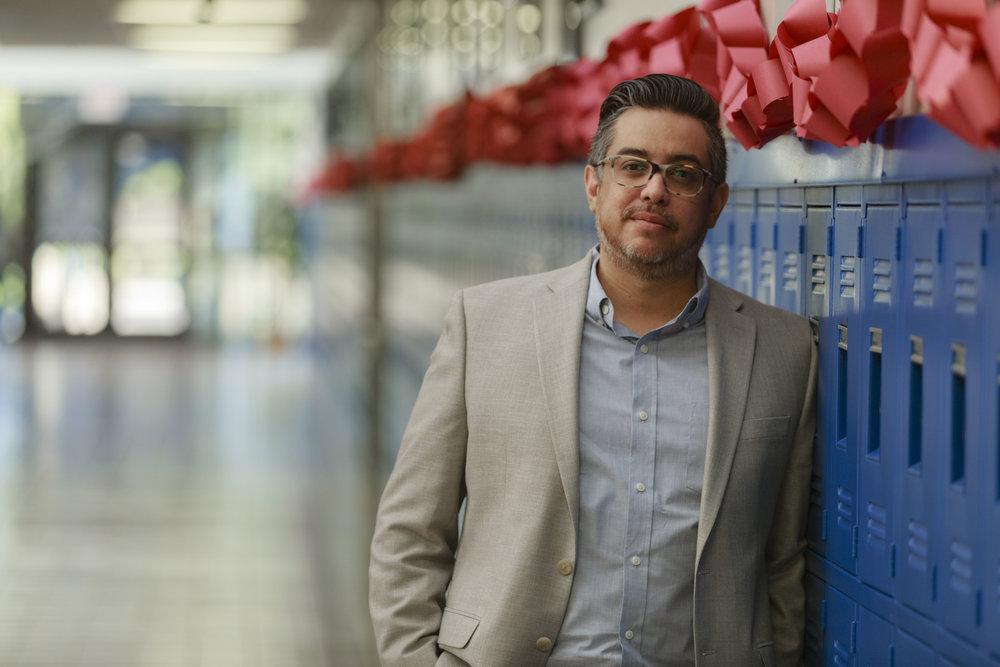 Orlando Penuelas- STISD alumnus and parent