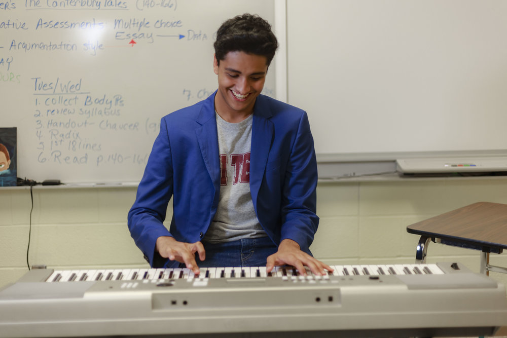 Mahmood Alfayoumi- Senior at The Science Academy of South Texas (Science Academy) in Mercedes
