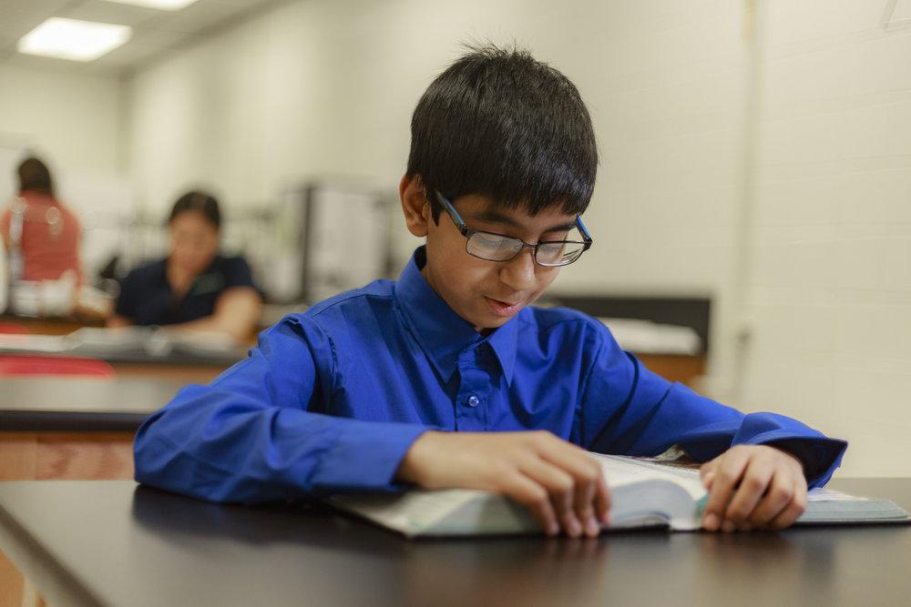 Muhammad Noorani- Eighth-grader at South Texas Preparatory Academy (STPA) in Edinburg