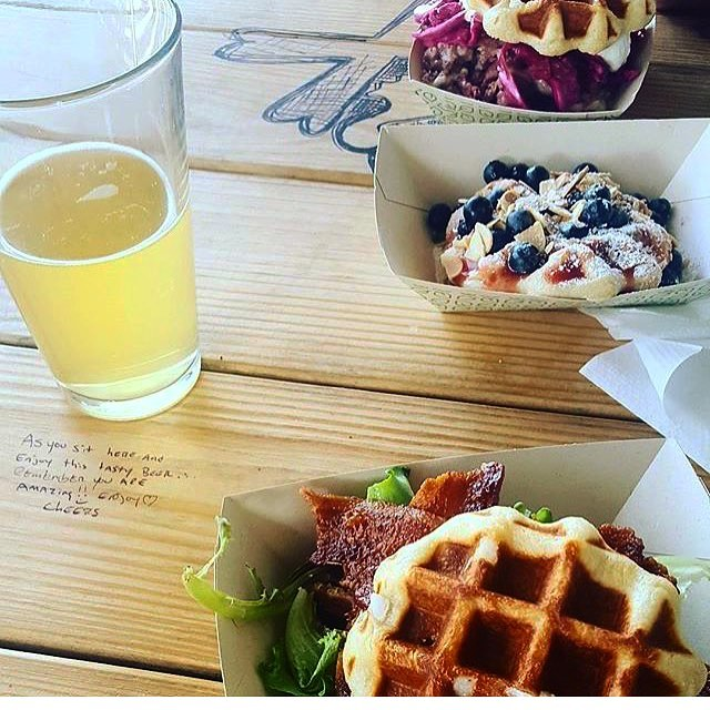 We are @oconnorbrewing tomorrow (Sunday) for brunch from 12-3PM! Photo by @jen.p.beck