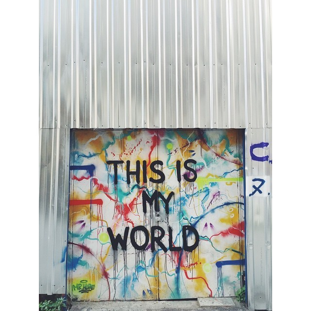 This is my world #ThisIsMyWorld #streetart #graffiti #karaköy #theurbanexpat #turkey #neveraboringmoment #passionpassport #travelbug #travel #instaistanbul #instatravel #insta #instabest #instagood #vsco #vscocam #vscobest #vscotravel #vscoistanbul #mytinyatlas #TellOn #liveby #WidenYourWorld #LoveFromTurkey @turkishairlines (at Karakoy, Istanbul, Turkey)