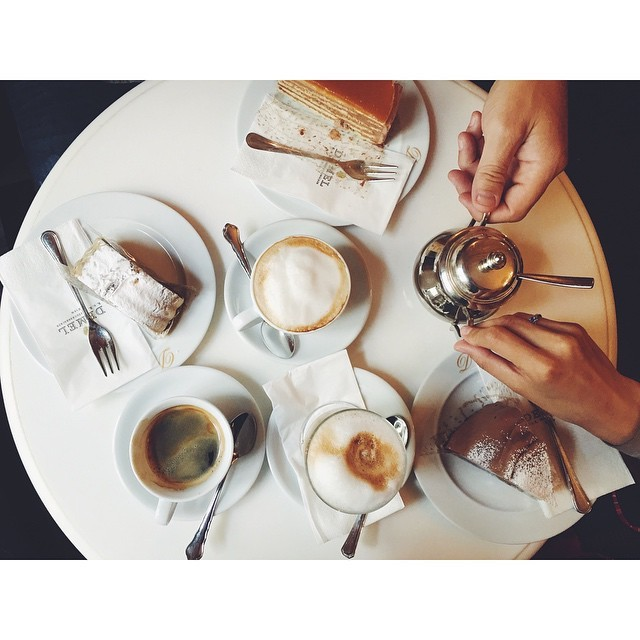 Got to have cake and coffee in Vienna at the famous @demel #cafedemel #demel #vienna #austria #vsco #vscocam #vscobest #vscofood #vscotravel #foodie #foodjourney #foodieinheaven #foodtofeastyoureyes #insta #instabest #instagood #instatravel #instafood #realfood #realtravel #TellOn #travel #travelbug #yummy #passionpassport #sweets #summeroftravel #deserts #delicious #greatcafes #happybelly #mytinyatlas #neveraboringmoment  (at Demel Cafe, Vienna)