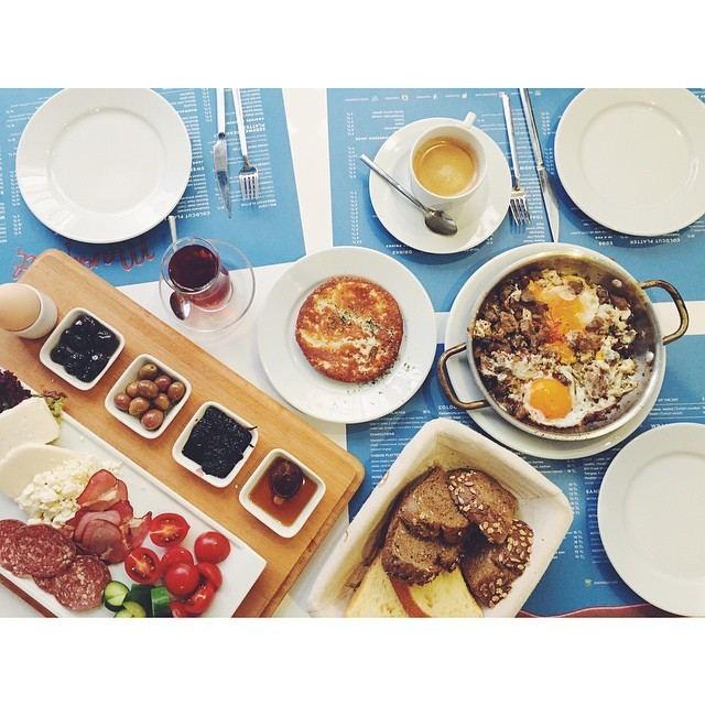 The Turkish breakfast journey continues #turkish #turkishbreakfast #turkishcoffee #food #istanbul #marmelatcafe #yummy #passionpassport #travelbug #TellOn #travel #theurbanexpat #istanbul #turkey #vsco #vscocam #vscobest #vscofood #insta #instabest #instafood #instagood #instaistanbul #vscoistanbul #eatwithyoureyes #galata #expatlife #expatinturkey #infoodheaven #delicious #galatamarmelatcafe #livingabroad #liveby #breakfast #NeverABoringMoment #mytinyatlas  (at Galata Marmelat Cafe)