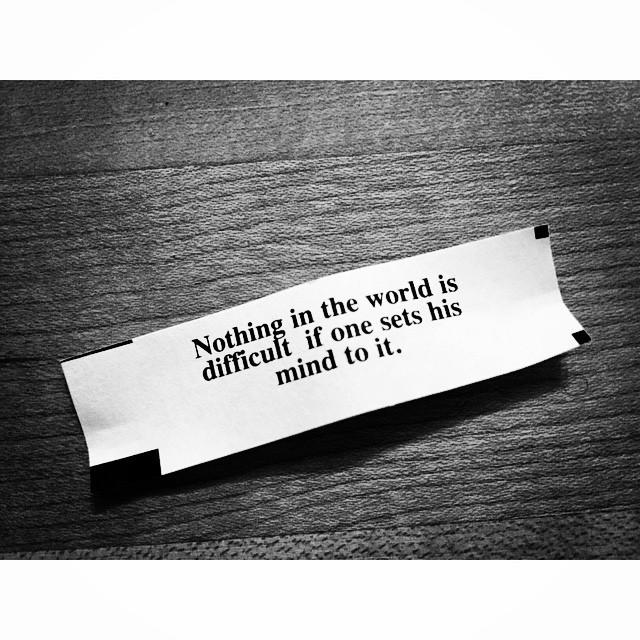 Truth. Even when making movies ;) #setyourmindtoit #wisdoms