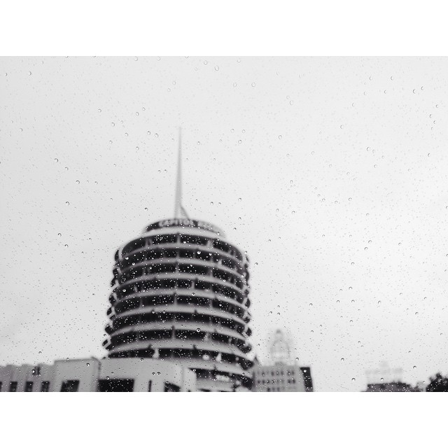 Rainy day in the city of angeles #losangeles #rainyday