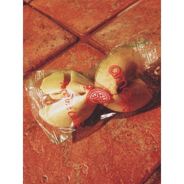 Double good fortune #luckycharm #goodfortune #doubleluck #fortunecookieq #yes
