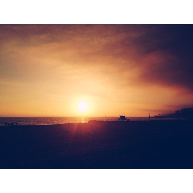 Perfect Cali sunset #sunsets #malibu #california #losangeles #instabest #bestestaward #skyevon