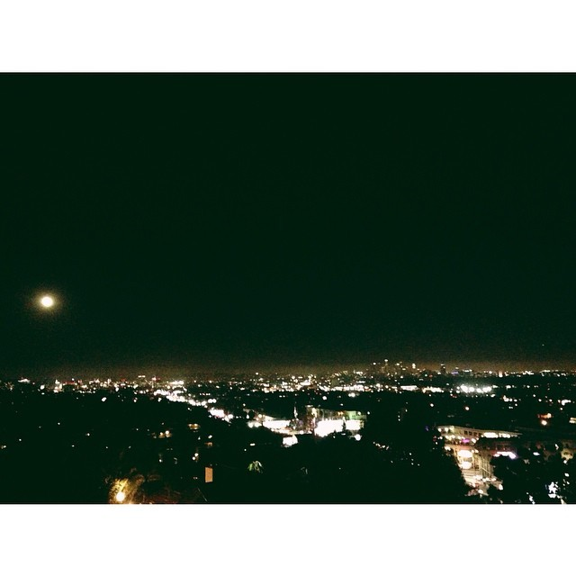 Last night over LA #LA #nightsky #skyline