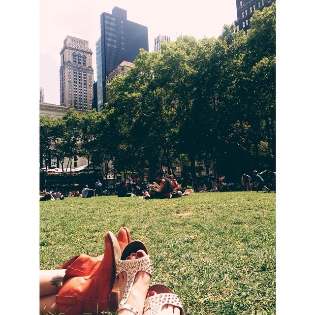 Lunch in the park #lunchinthepark #bryantpark #nyc #summerinthecity
