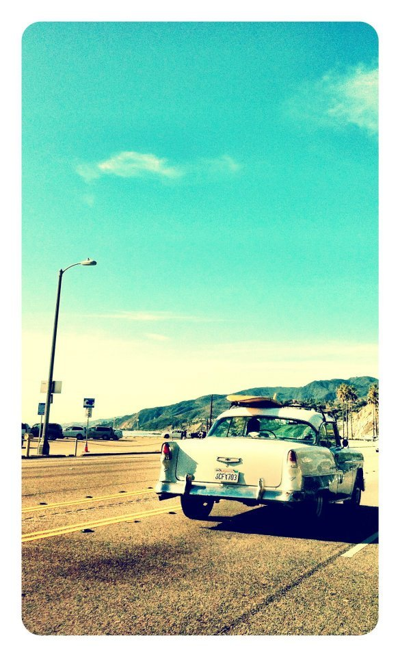 #beachfun #classiccar #venicebeach