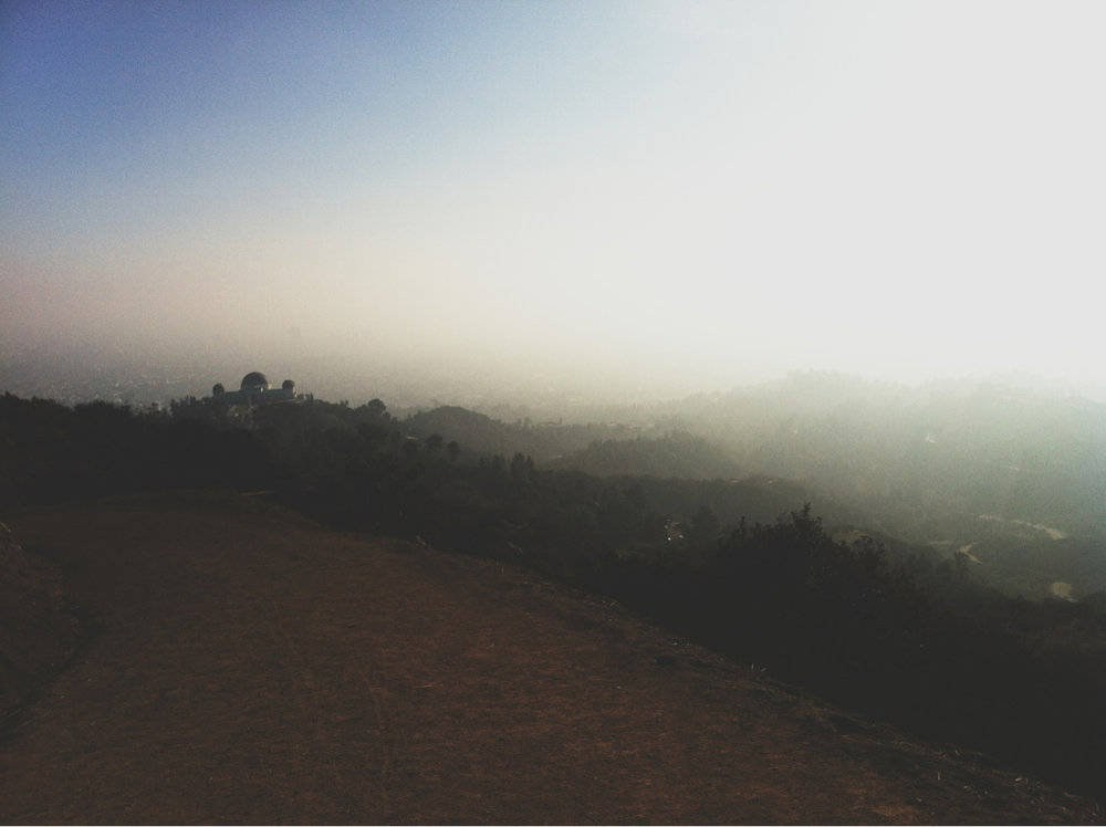 #griffithpark #la #foggy