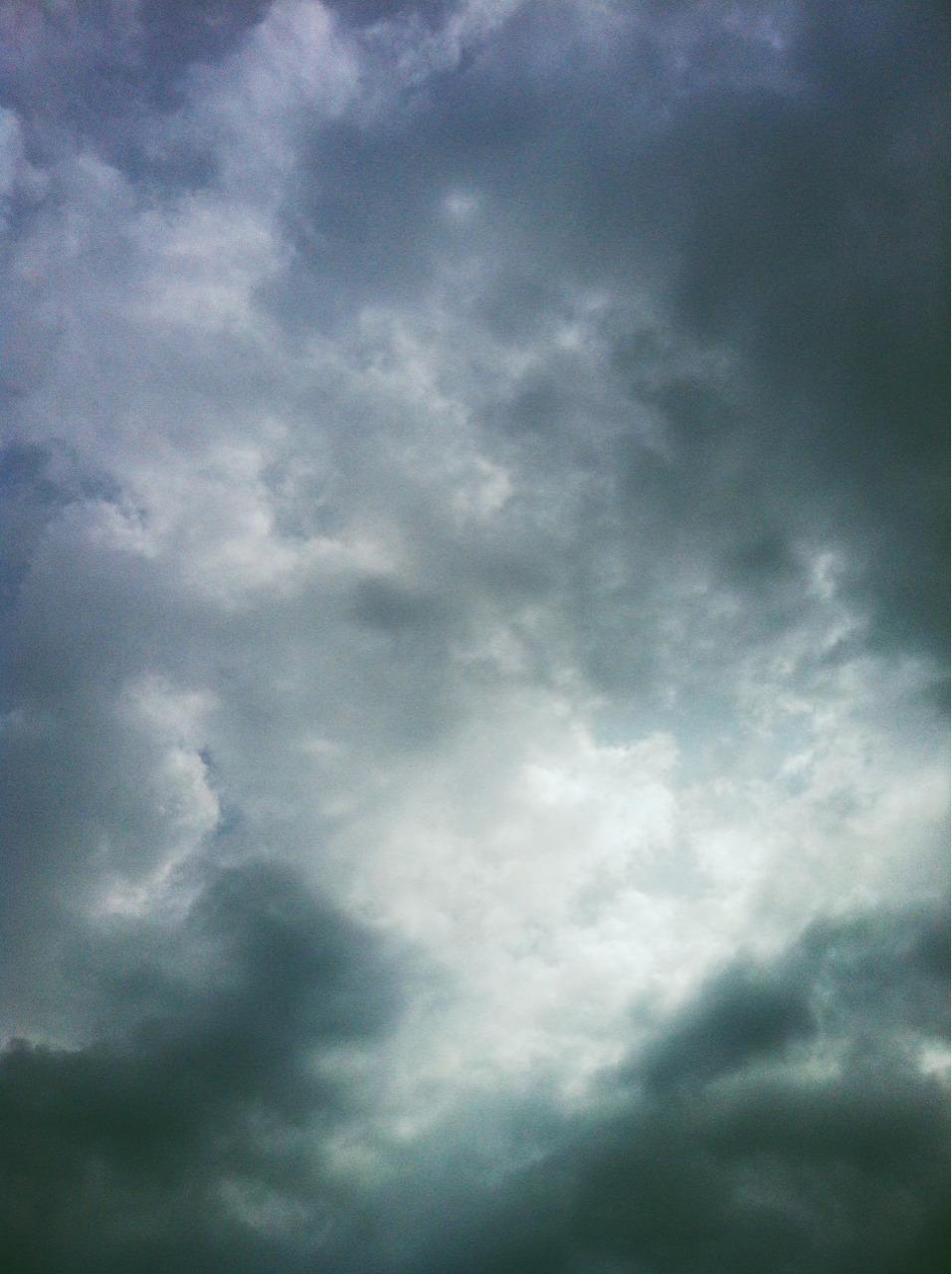 #rainy #cloudy #sun #emerging #skies