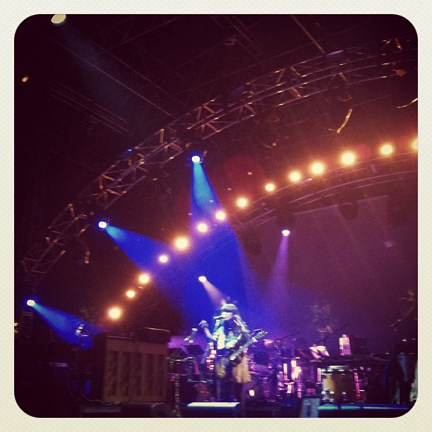Feist is on a league of her own. Best show I have seen in the last 10 years! (Taken with  Instagram  at Coachella)