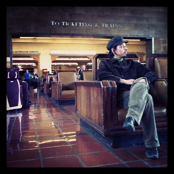 Location scouting (Taken with  Instagram  at Los Angeles Union Station)