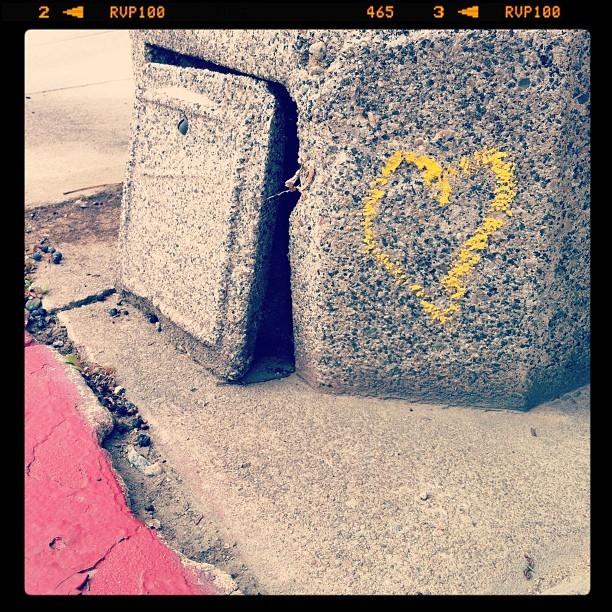 I ….. LA! (Taken with  Instagram  at North Beachwood Drive)