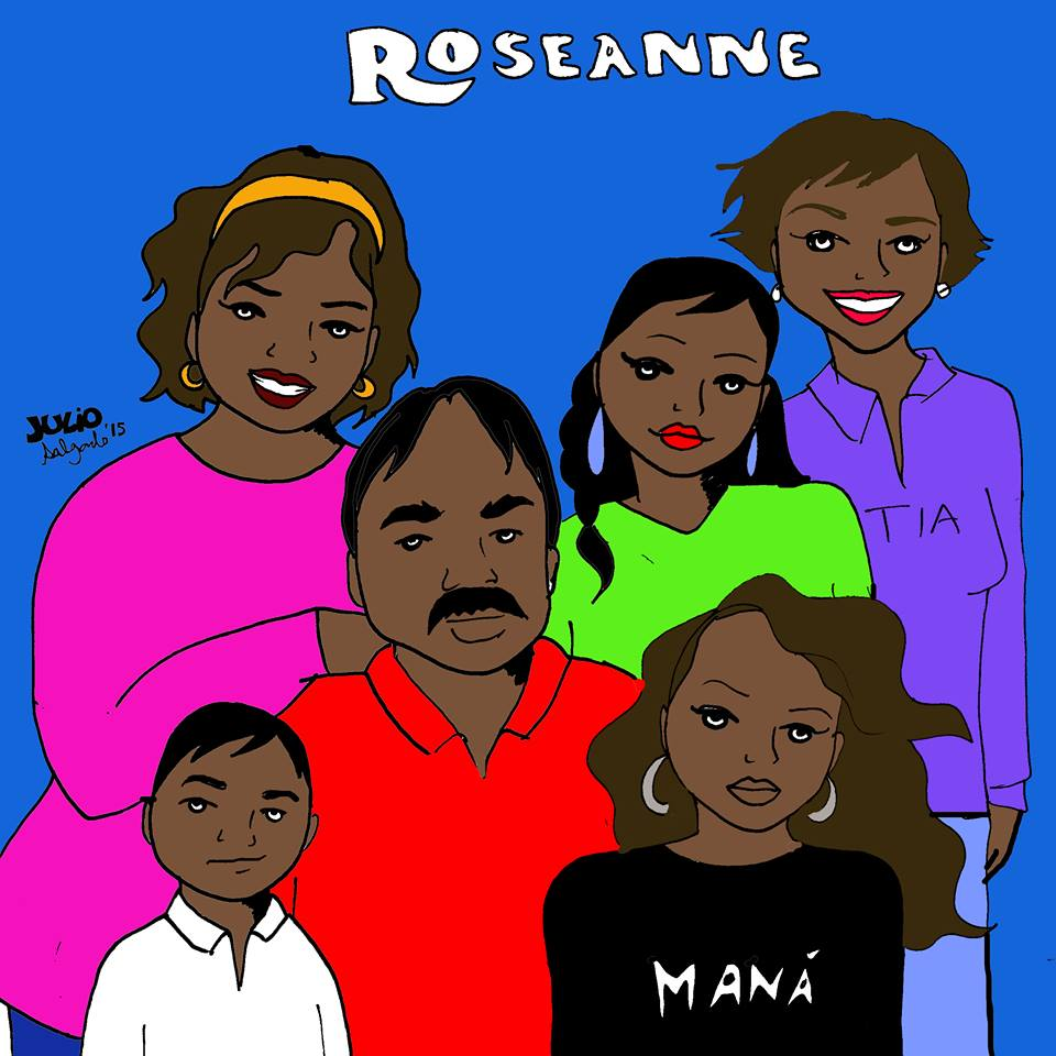"""This Roseanne is made up of a Mexican family living in Huntington Park."" -Julio Salgado"