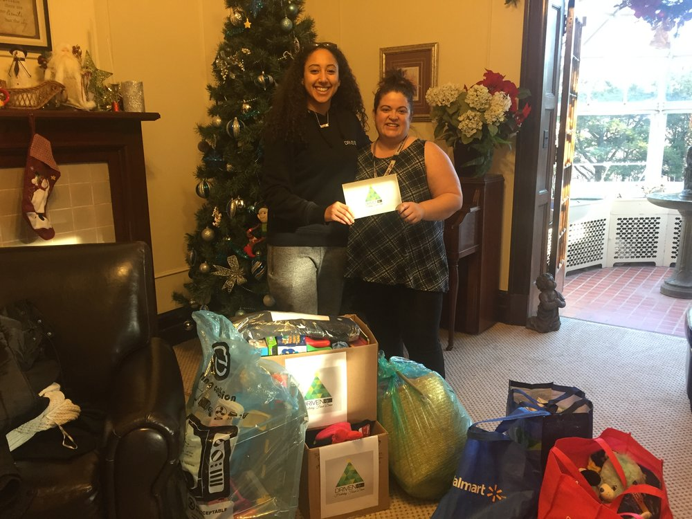 DrivenBy… Holiday Food Drive 2018 - The 2018 DrivenBy... Holiday Food Drive has been a great success. With the help of many generous and caring individuals we have delivered the gifts to Armagh on December 18th. The directors and child & youth works at Armagh were overjoyed to see that we were back again for another year with even more to give! This year we raised $220 that was used to purchase 5 boxes of non-perishable food items! In addition, some individuals kindly donated toys and books as gifts for the children. In total there were over 10 boxes filled with donations! Thank you so much to everyone who donated, thank you for making a difference in the community and for helping to rebuild lives. We don't have to walk our journey alone, and you proved that!