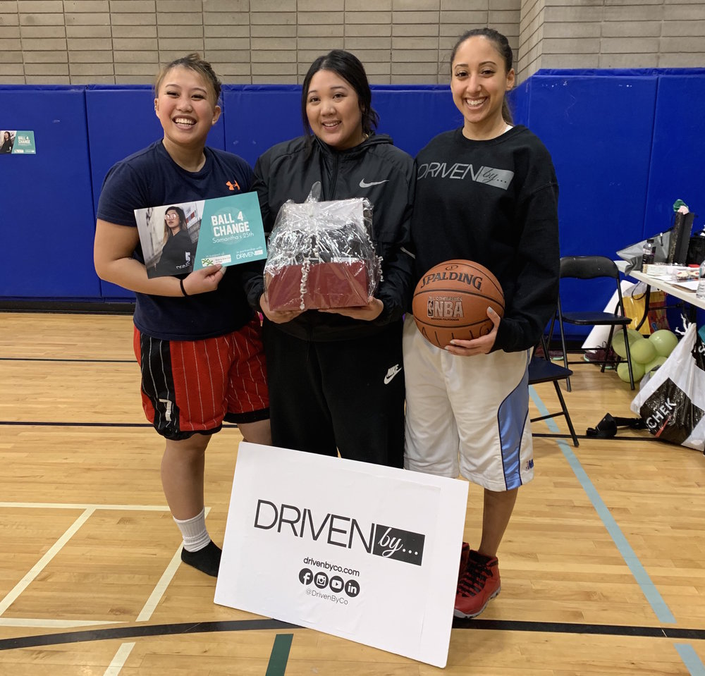 "Ball 4 Change (Samantha's 25th) - There comes a time in our lives when we begin to look at things greater than ourselves, where we celebrate ourselves by celebrating others. This came true for Samantha Hallig as she turned 25 years old. Samantha Hallig of Mississauga wanted to celebrate her birthday by giving to back to others, so she partnered with Driven By… Co. to create ""Ball 4 Change."" She came up with the idea knowing that she wanted to do something significant, and with her love of basketball, she came up with the perfect event.Ball 4 Change on February 17th, 2019, was a basketball tournament where instead of paying to play, players made a donation to the Boys & Girls Club of Peel through Driven By… Co. Split into 4 teams, each team played a total of 4 games. With a variety of skill levels across the room, it was great to see how everyone made each game very inclusive for all players. Everyone left their hearts on the court and the winning team walked away with gifts from the birthday girl herself! MVP awards were given to Joelle and Kyle, who gave 110% effort! We also raffled off a Driven By… hoodie and 2019 planner to raise extra money for the Boys & Girls Club of Peel.Everyone had such positive feedback for the event and thoroughly enjoyed themselves. Together we raised over $300 for the Boys & Girls Club of Peel between player donations and raffle ticket sales. It was an incredibly successful event that we hope inspires others! Happy Birthday Samantha! Thank you for Balling 4 Change!"