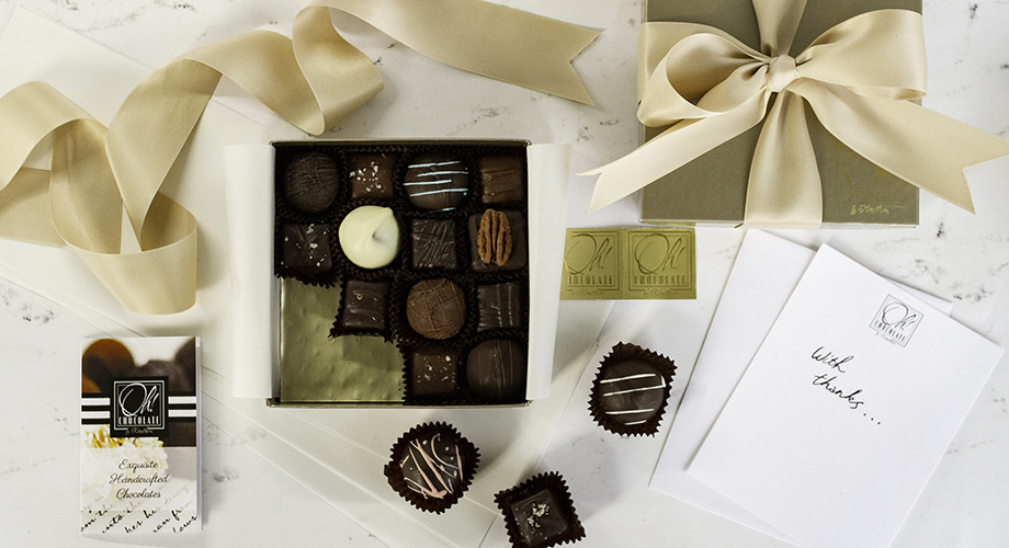 LUXURY GIFTS FOR SPECIAL OCCASIONS! - Delicious handmade chocolates for every celebration.