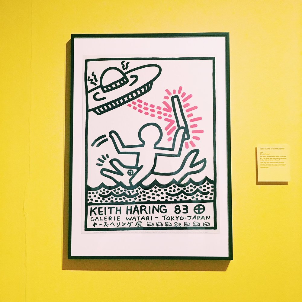 One of Keith Haring's posters.