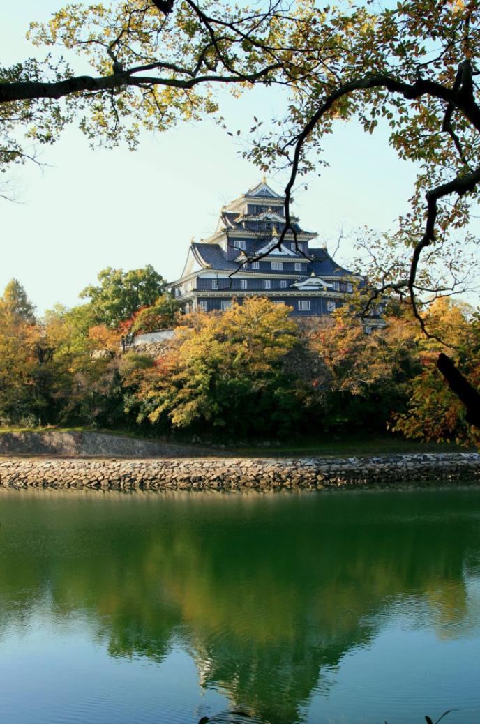 My hometown of Okayama, Japan.