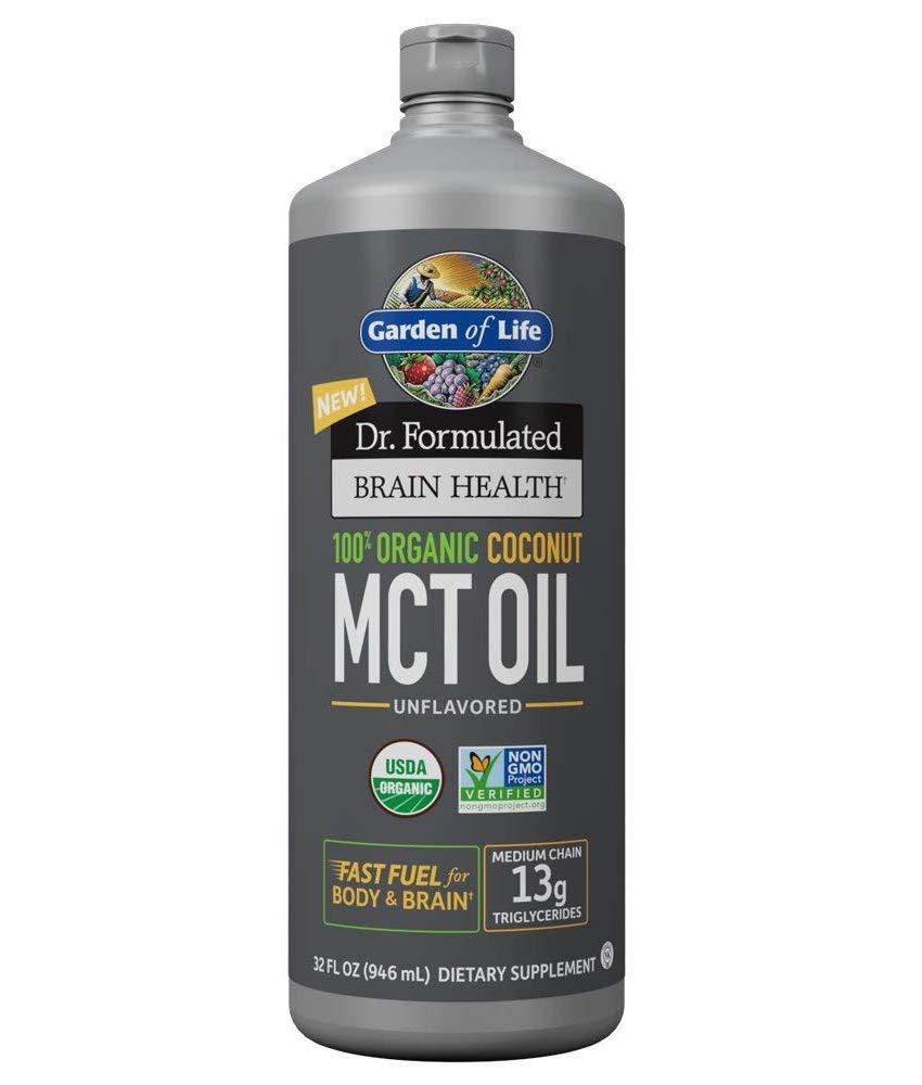 100% Organic Coconut MCT Oil