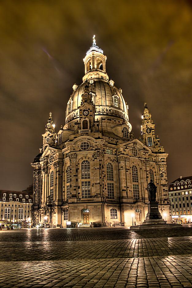 Reconstructed Dresden Frauenkirche, 2005.