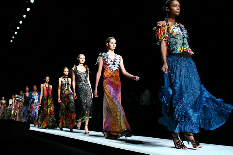 Photo from South African Fashion Week