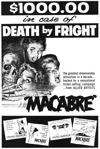 THE STORY OF SCHLOCKMEISTER WILLIAM CASTLE, THE LEGENDARY KING OF THE B-MOVIE GIMMICK 1