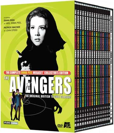 50 Years ago, Iconic Sexy Super Spy Emma Peel Became TV's First Female Action Hero - DVD set.jpg