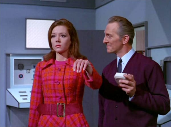 "50 Years ago, Iconic Sexy Super Spy Emma Peel Became TV's First Female Action Hero - ""Return Of The Cybernauts"" 2.jpg"