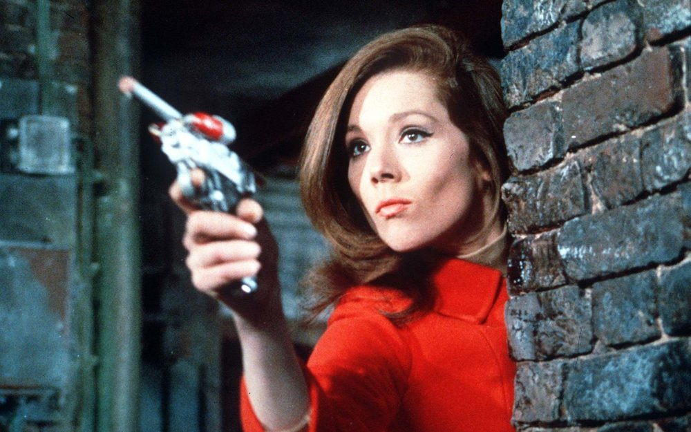 50 Years ago, Iconic Sexy Super Spy Emma Peel Became TV's First Female Action Hero - A True Feminist Icon.jpg