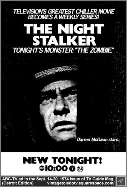 """""""Kolchak: The Night Stalker"""" Is The Obscure '70s Sci-Fi Show That Influenced a Whole Generation - Credit ABC"""