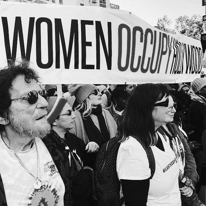 Women Occupy Hollywood March - Ivana Massetti - Openletr .JPG