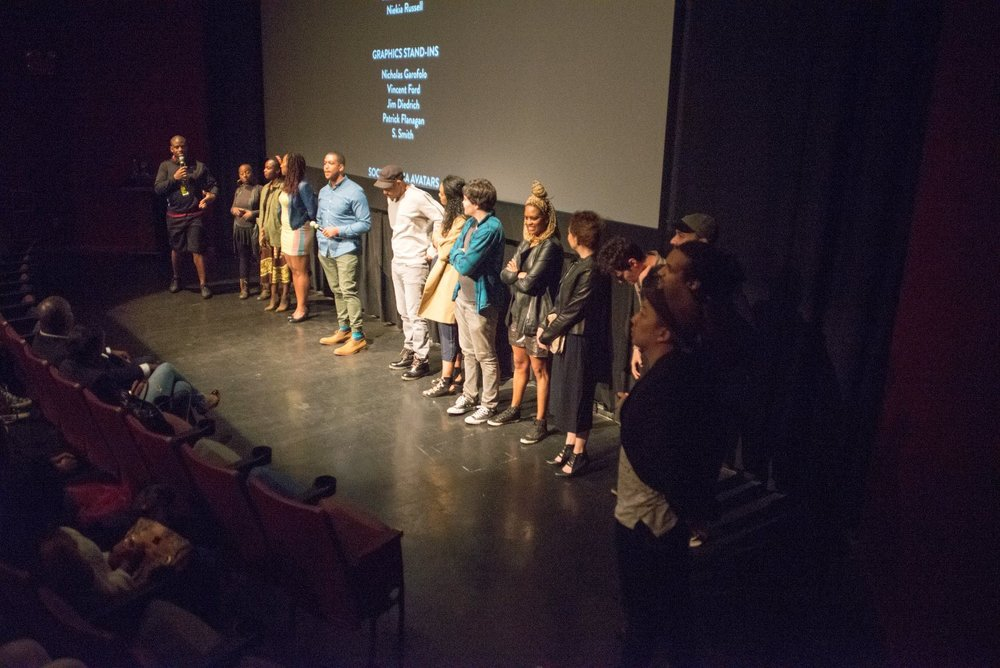 Nigerian film director Iquo B. Essien screens New York, I Love You at the New Voices in Black Cinema Festival at Brooklyn Academy of Music. The film screened with fellow NYU Tisch alum Tahir Jetter's How to Tell You're a Douchebag.