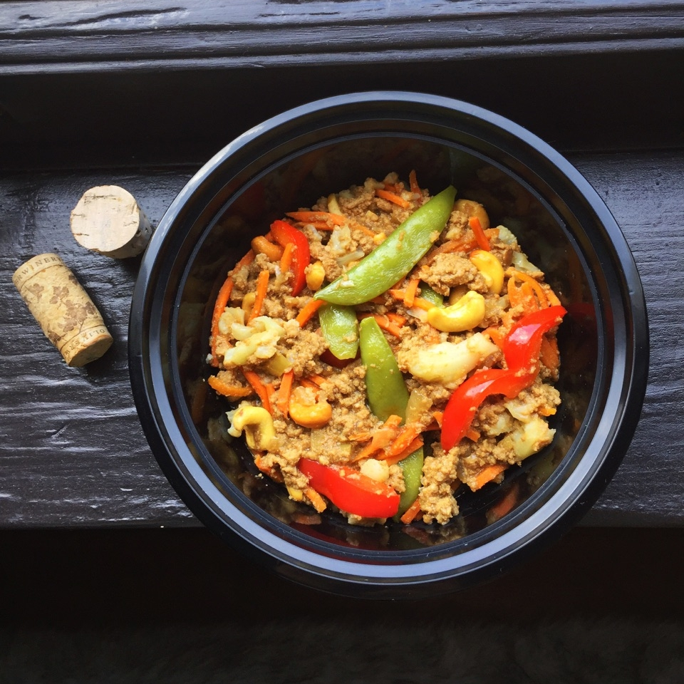 Ground Turkey Teriyaki Stir Fry