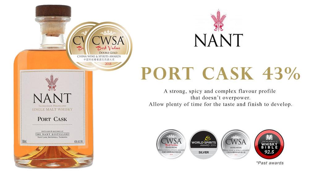 Nant Port Cask 43%