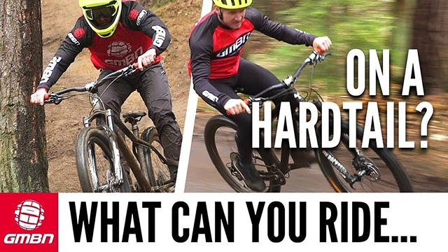 How Hard Can You Ride On A Hardtail Mountain Bike?  We always get asked, what can I ride on my hardtail MTB? Dirt jumps? Enduro? Freeride? Downhill? Is it only good for XC? Well Blake's been listening, so thou... https://crwd.fr/2JdXFNY . . . . #bikes #bikeporn #instabike #bike #bikelife #biker #mountainbike #motorbike #swarm #bikeride #swimbikerun #bikers #races #family #root #dragrace #raceday #breed #mountain #mountainbiking #mountainlife #elevation #hill #race #mountaineering