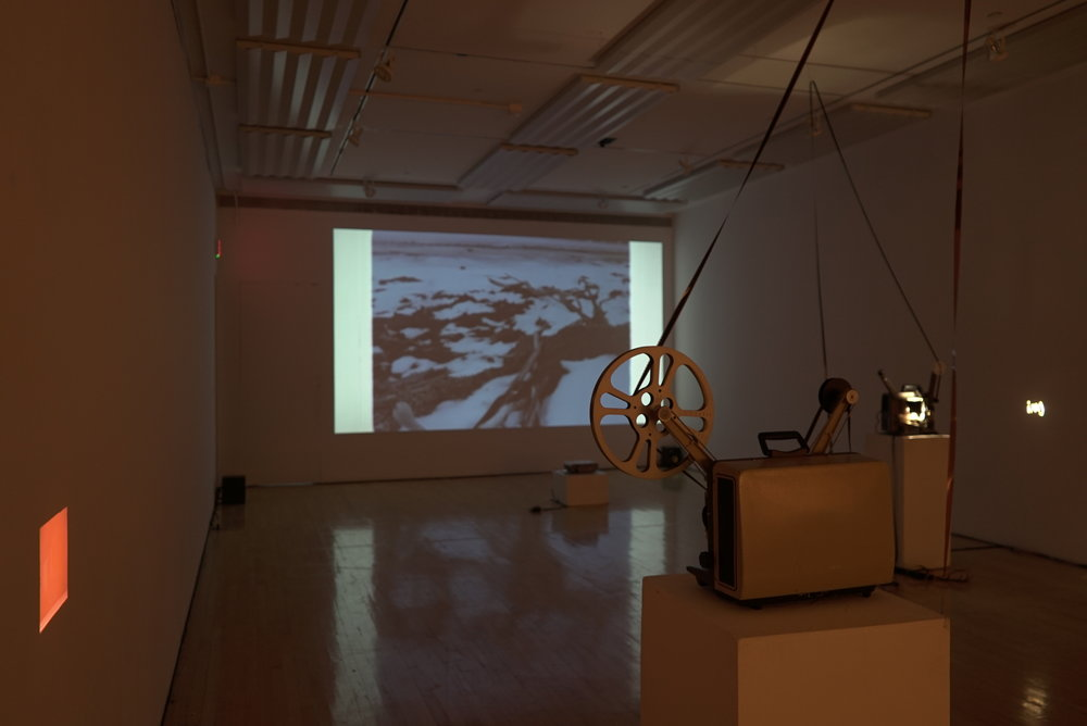 Sept 2017. 16mm film and digital projection.Installation view.