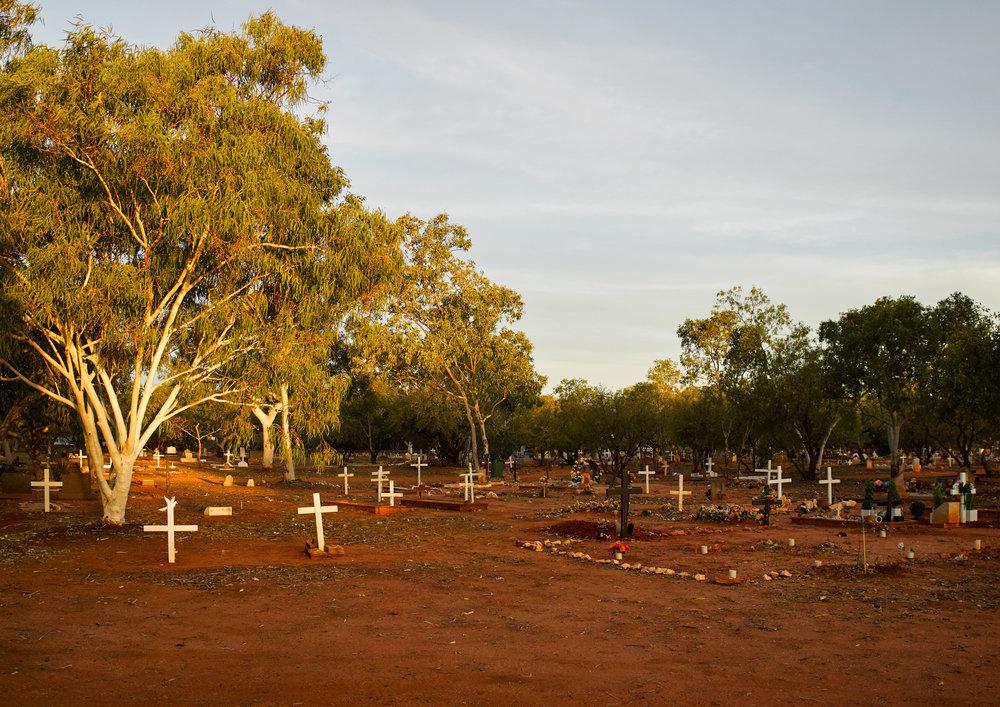 Broome Cemetery, 2015