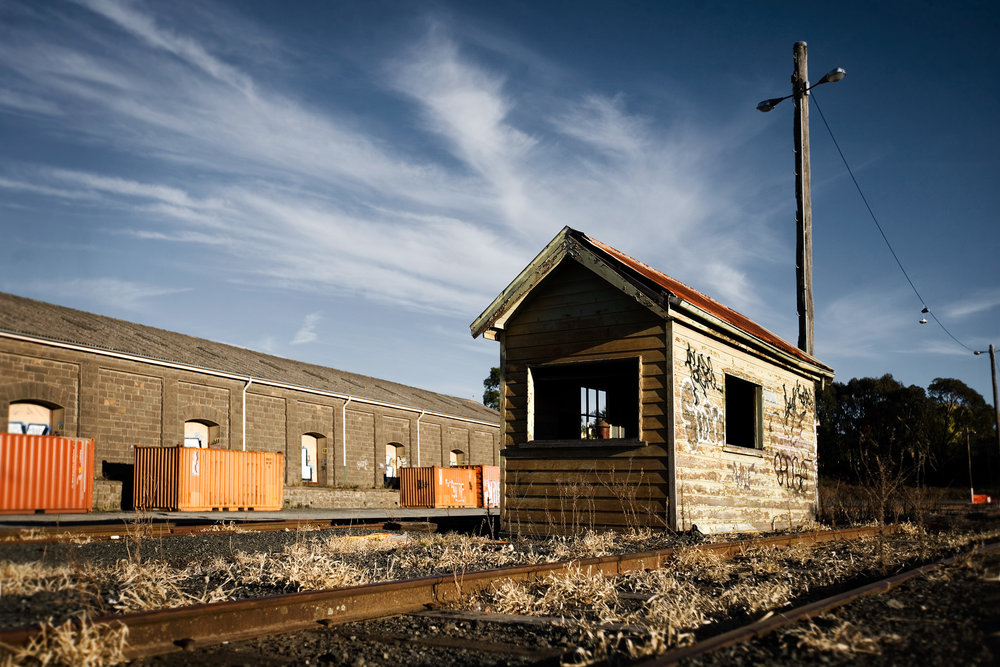 Railway Shed, Ballarat, 2013