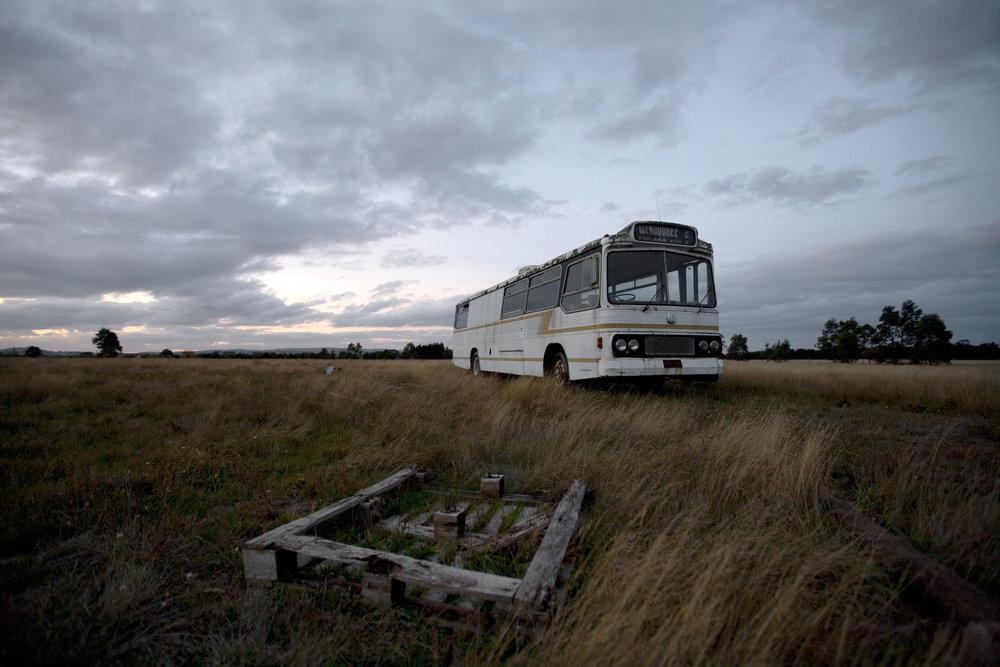 Wendouree Bus near Gordon, 2013
