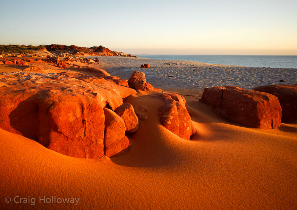 Pindin Sands, Cape Leveque
