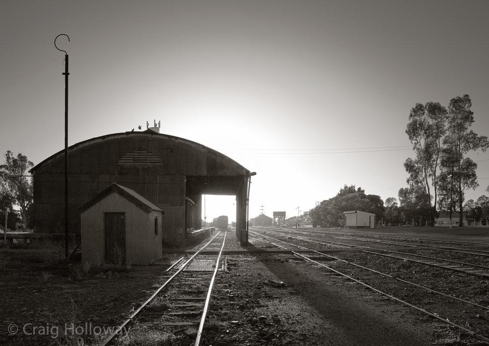 Quorn Railyard